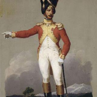 제 1 제정의 군복 : 프랑스 외인부대