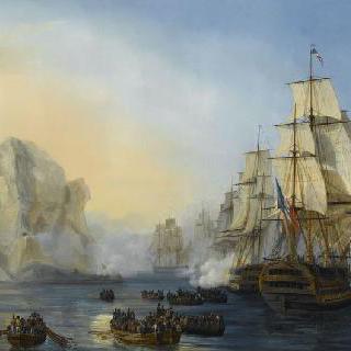 마르티니크 군도의 남서쪽 곶의 남쪽에 위치한 르 디아망 바위산 공격