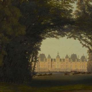1843년 빅토리아 여왕의 에위 성 여행