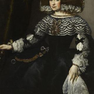 스페인 궁전의 여인의 초상