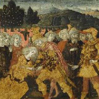 카소네 패널 : 오디세우스의 출발