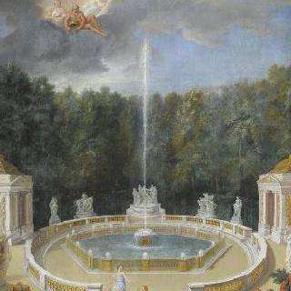 1688년 베르사유 정원 내 돔이 있는 작은 숲의 전경