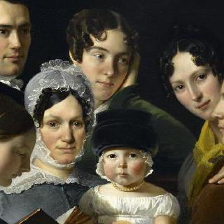 1820년 뒤뷔프 가족