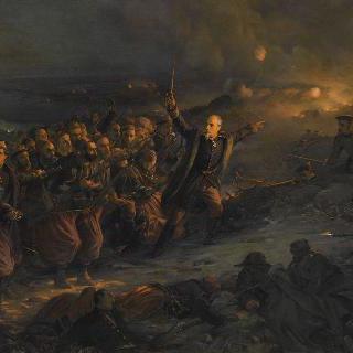 1855년 2월 24일 모네 장군의 셀링핀스크 축성 공격