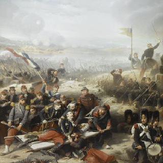 말라코프 성문과 망루 사이의 성벽, 1855년 9월 8일