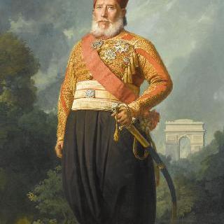 이브라힘 파샤, 아버지 메헤메 알리의 왕의 위양 후 1848년 이집트의 부왕