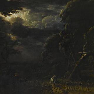 1809년 7월 4일 프랑스 군대의 다뉴브 강의 통과