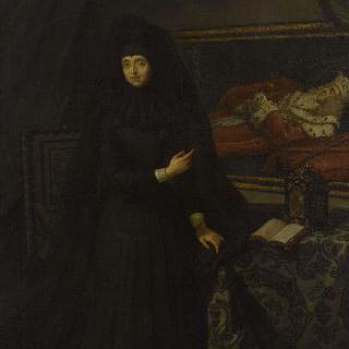 안나 마리아 루이자 드 메디치의 초상