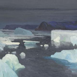 카라 해의 얼음들