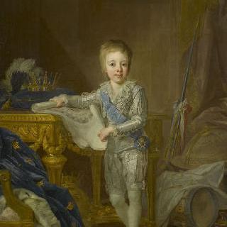 7세 때의 게스타브 4세 아돌프, 스웨덴 왕