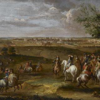 1673년 6월 29일 루이 14세와 드 보반의 마이에스트리히 도착