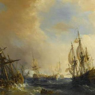 1811년 3월 2일 에글르 범선의 영국 범선 7척 포획