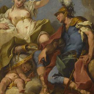 마르스, 비너스와 에로스