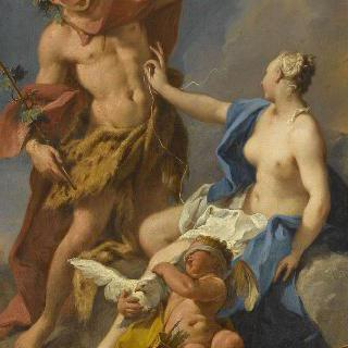 바카스, 아리안과 에로스
