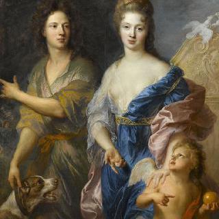 비너스와 파리스로 그려진 연인의 초상