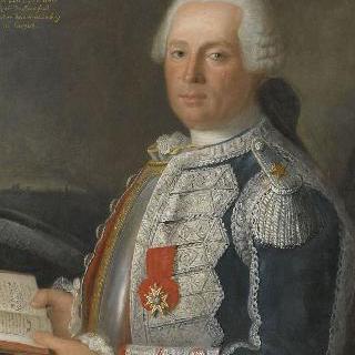 장 루이 베르나르 드 프레잘 드 부르포, 왕의 부대 기병 하사