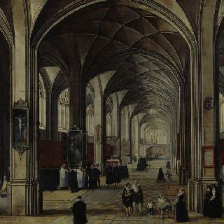 플랑드르 성당 내부