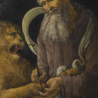 성 제롬과 사자