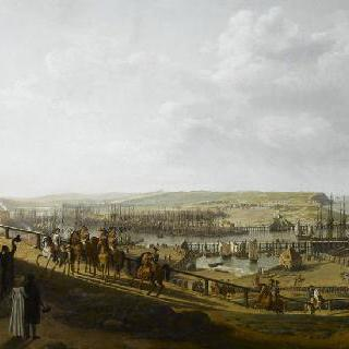 1804년 7월 블로뉴 야영지를 방문한 나폴레옹 1세