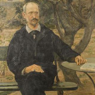 구스타브 토두즈의 초상, 화가