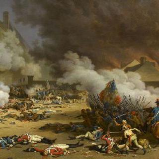 1792년 8월 10일 카루젤 앞뜰, 튈르리 왕궁의 탈환