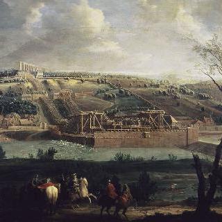 마를리 성의 수로 기계