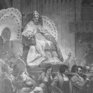 생 피에르 대성당의 교황 레오 12세