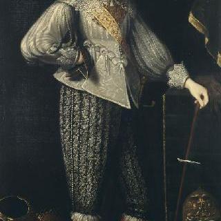 앙리 쿠아피에 루제 데피아의 초상, 생크 마르 후작, 왕의 마구간 책임자