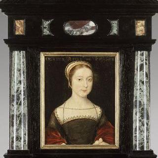 프랑수아 1세의 부인, 루이 12세의 딸 클로드 드 프랑스로 추정되는 초상