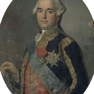 프랑스 총사령관 빅토르 프랑수아 브로글리 공작의 초상