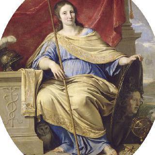 미네르바의 모습을 한 안 도트리슈 프랑스 왕비