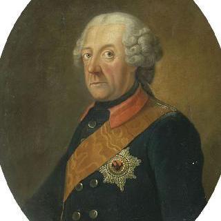 프레데릭 2세의 초상, 1740년 프러시아 왕