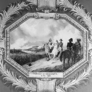 1809년 5월 11일 타글리아망토를 통과하는 프랑스 군대