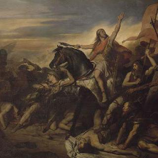 톨비악 전투 (496년 알라망과의 전투에서 승리한 클로비스)