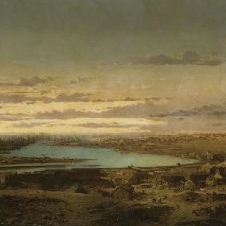 세바스토폴의 점령, 항구 안쪽에서 바라본 카미수 마을의 전경