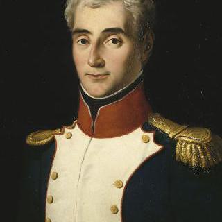 1792년 바르 제 2대대의 중령 제복을 입은 앙드레 마세나
