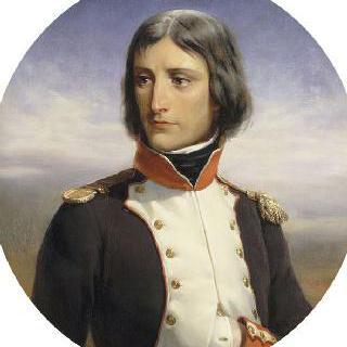 1792년 코르시카의 첫 번째 전투에서 중령복을 입은 나폴레옹 보나파르트