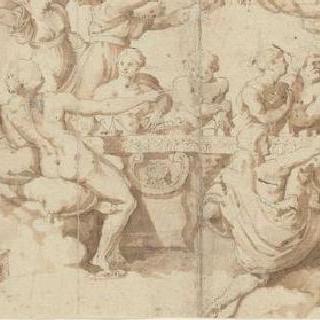 에로스와 프시케의 결혼식의 신들의 향연