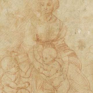 성모, 아기 예수와 작은 세례 요한