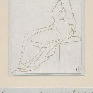 1793년 10월 16일 처형 장소로 인도된 마리 앙투아네트와 수사본 노트