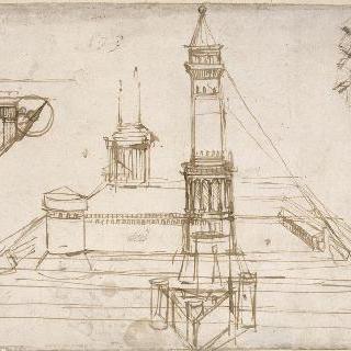 카스텔로 스포르제스코에 관한 건축물 습작