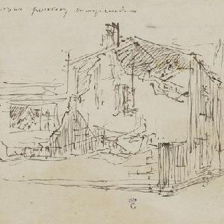 상리스에 있는 토마 쿠튀르의 집