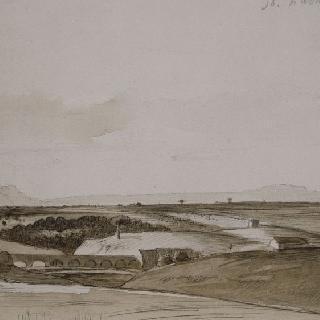 1858년 이탈리아의 풍경, 로마 빌라 팜필리