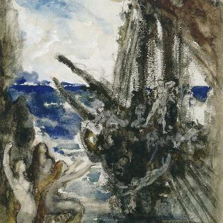 오디세우스와 바다요정들