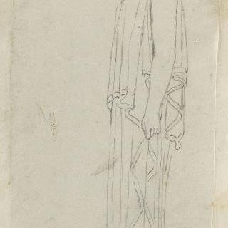 크로키 화첩 : 고대식으로 긴옷을 둘러입은 여자 프로필 이미지