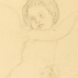 아기 천사 복제화
