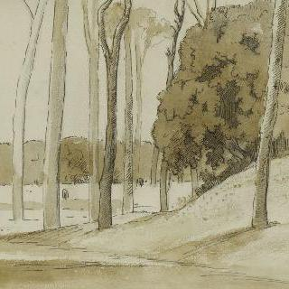 1858년 3월 28일 로마의 빌라 팜필리