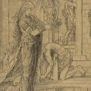 세례 요한의 머리를 들고 있는 살로메