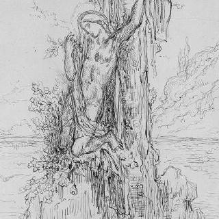 에우리디케의 무덤 위의 오르페우스