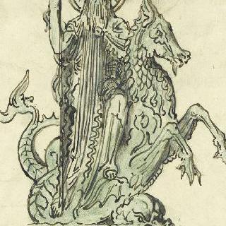 포세이돈 (동상 계획안)
